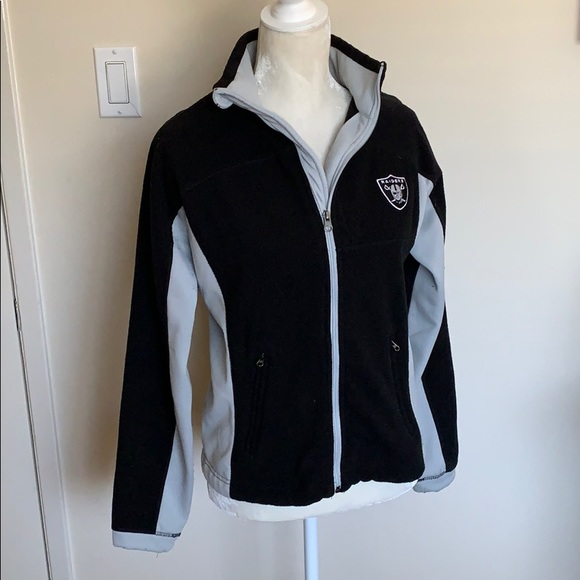 buy popular eeeb8 7d34a NFL Oakland Raiders zip up jacket
